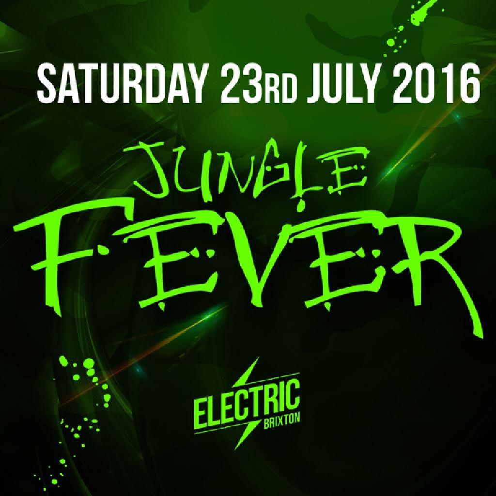 Jungle Fever flyer